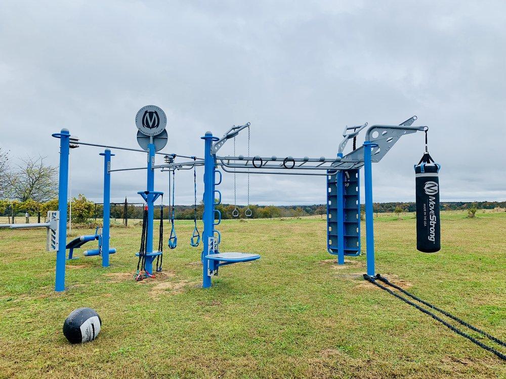 Custom Design Your Own Outdoor Fitness Equipment