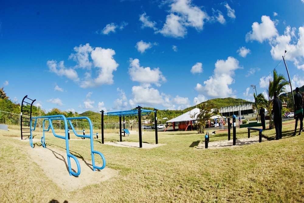 Outdoor Fitness Park Design and Equipment