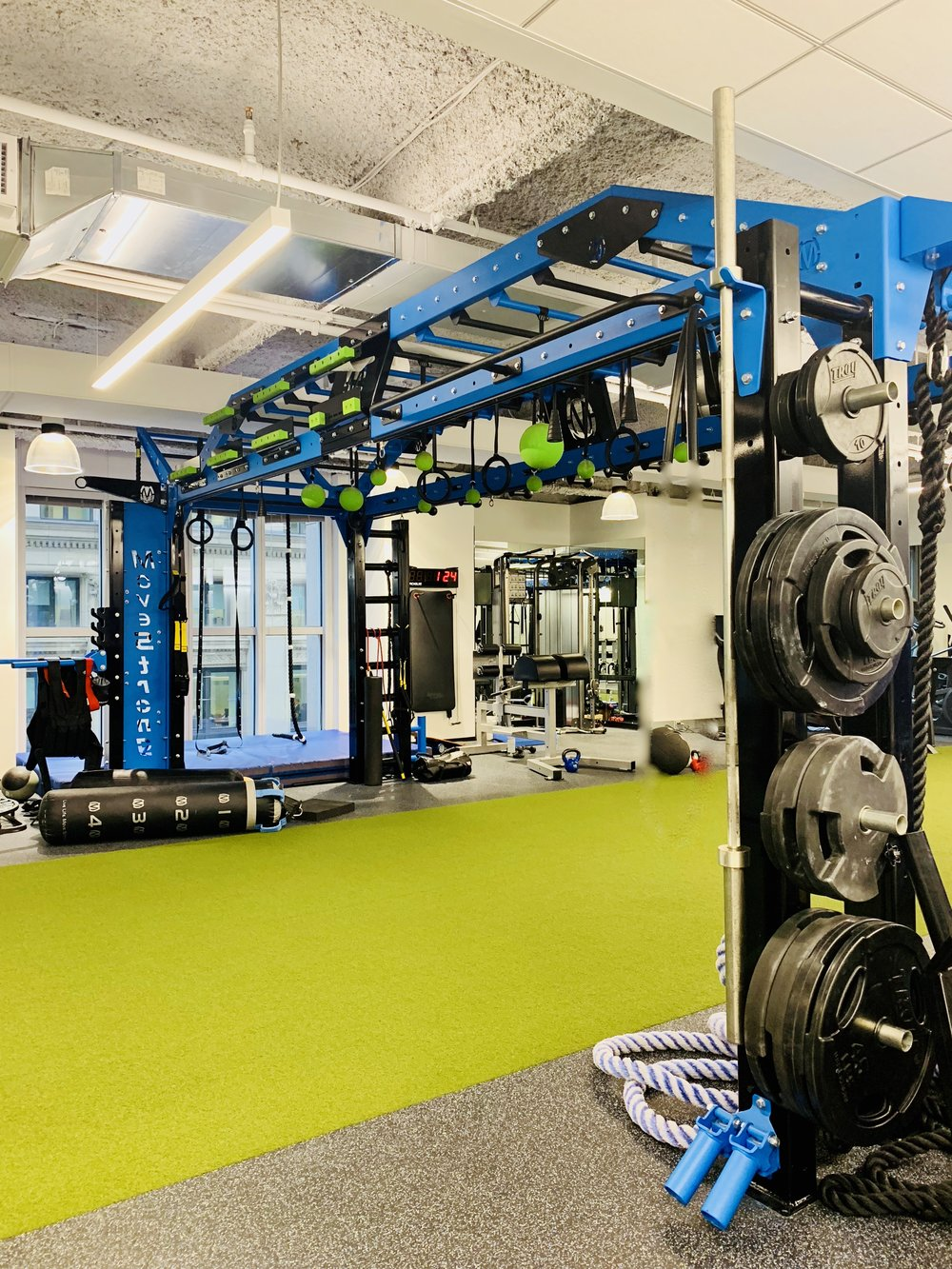 Fitness Gym Design For Corporate Building