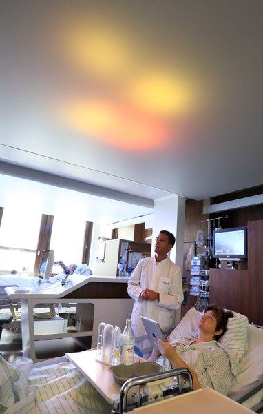 Patient doing cognitive training