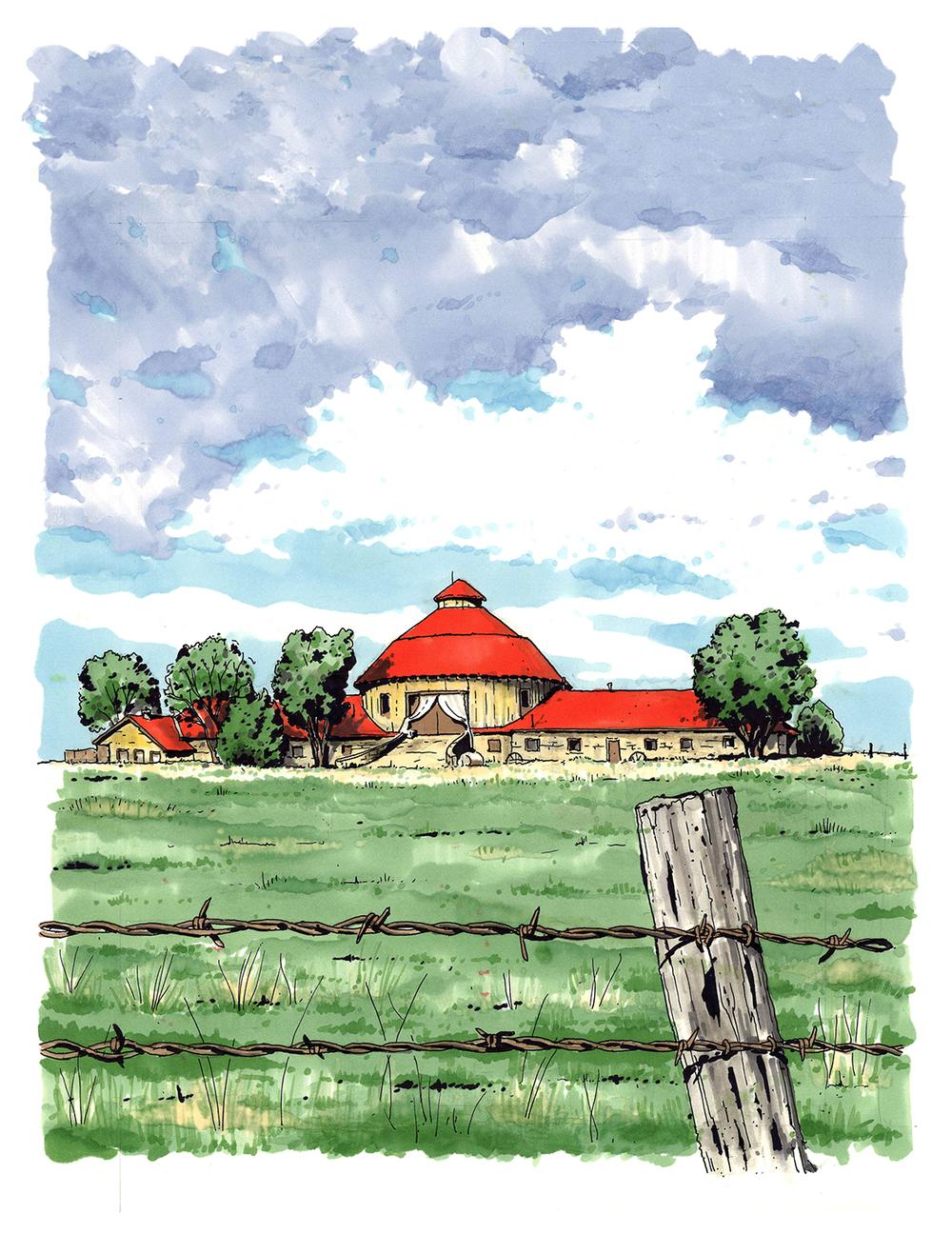 Round Barn. Mulvane, KS