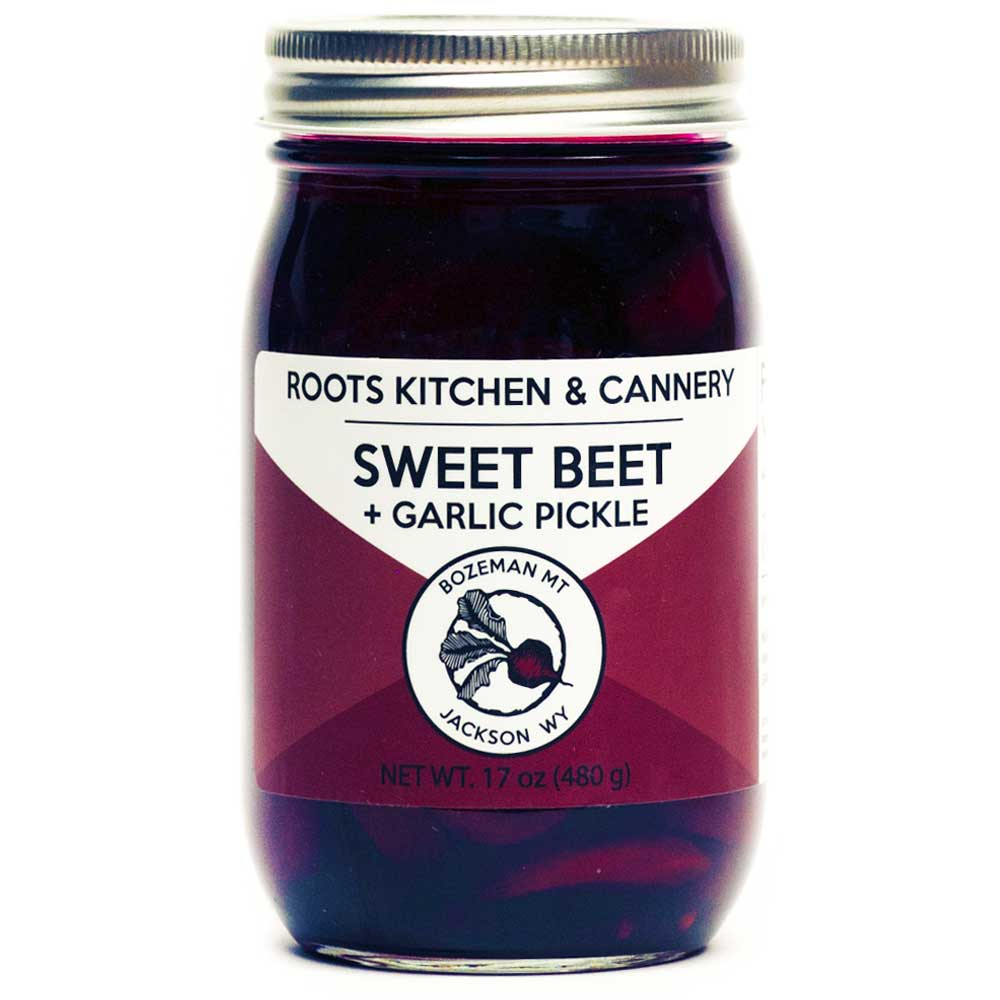 Sweet Beet & Garlic Pickles - This heady combination of sweet beets, tangy vinegar, and spicy garlic is near the top of our