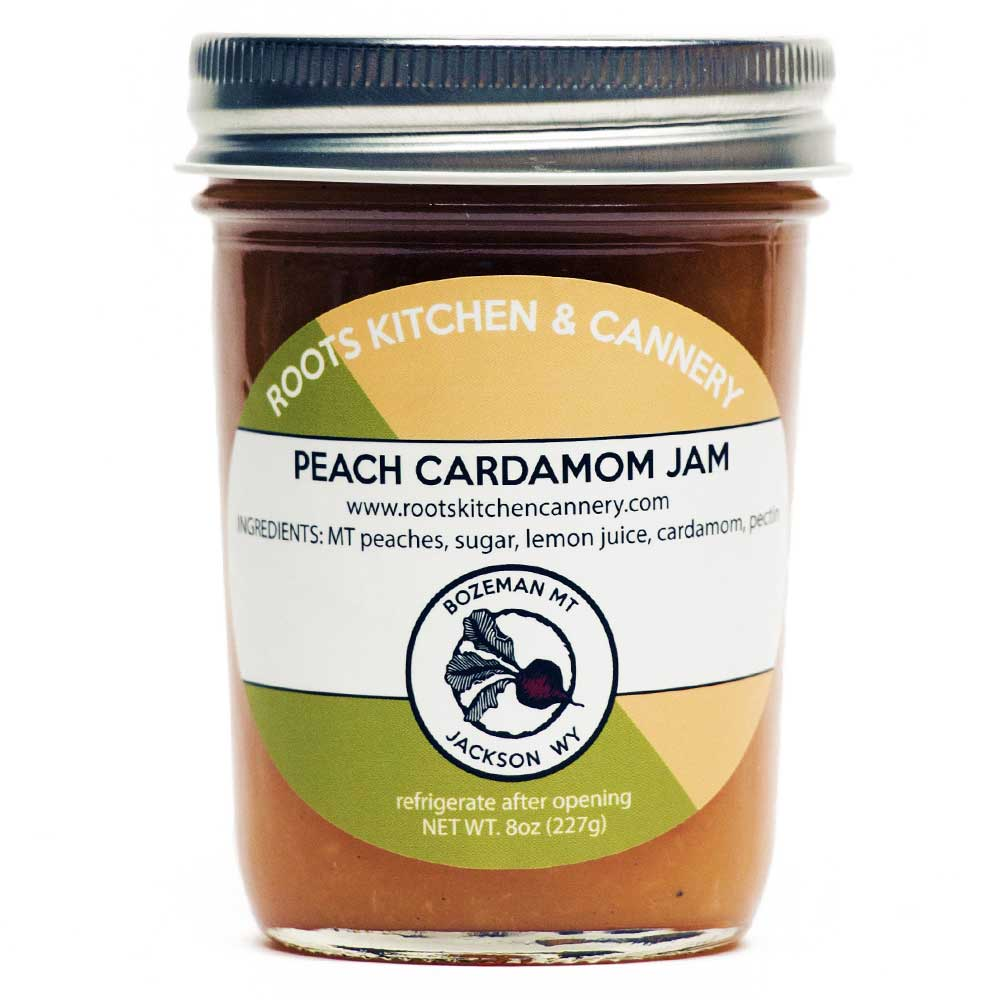 Peach Cardamom Jam - The delicate sweetness of peaches and the fragrant warmth of cardamom spice has finally come together.