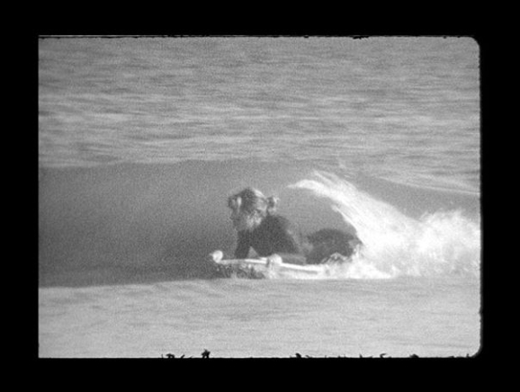 mADDIE GETTING A bUM bARREL AT HOME.  pHOTO BY wILL aDLER
