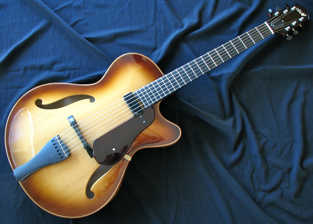 Burst Corvette Archtop   Pre-Owned: $OLD!