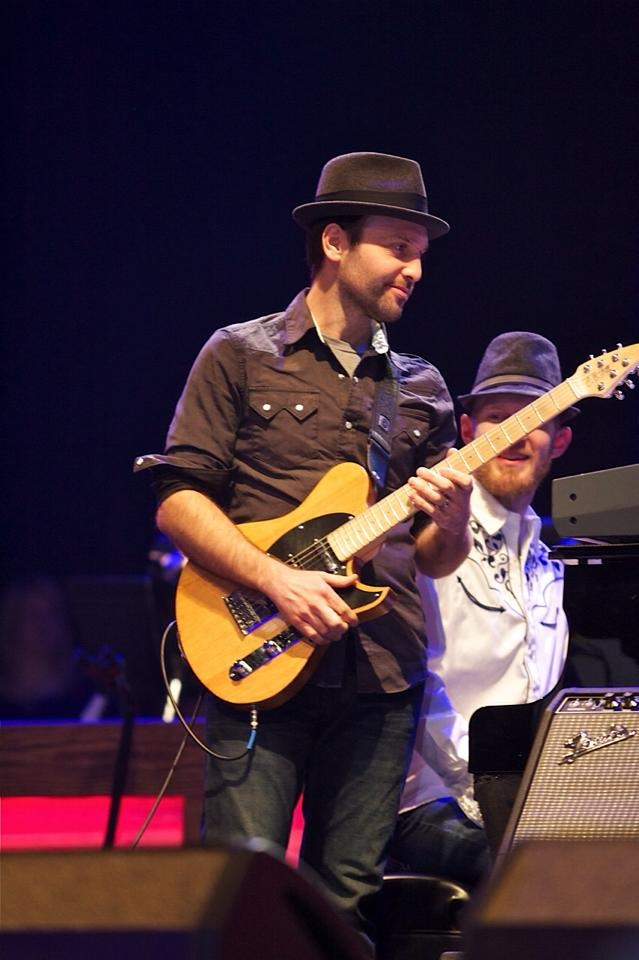 Beau & one of his Speedsters on stage at The Grand Ole Opry in 2014