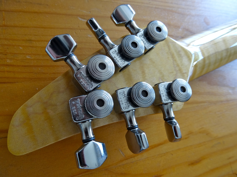 Sperzel locking tuners