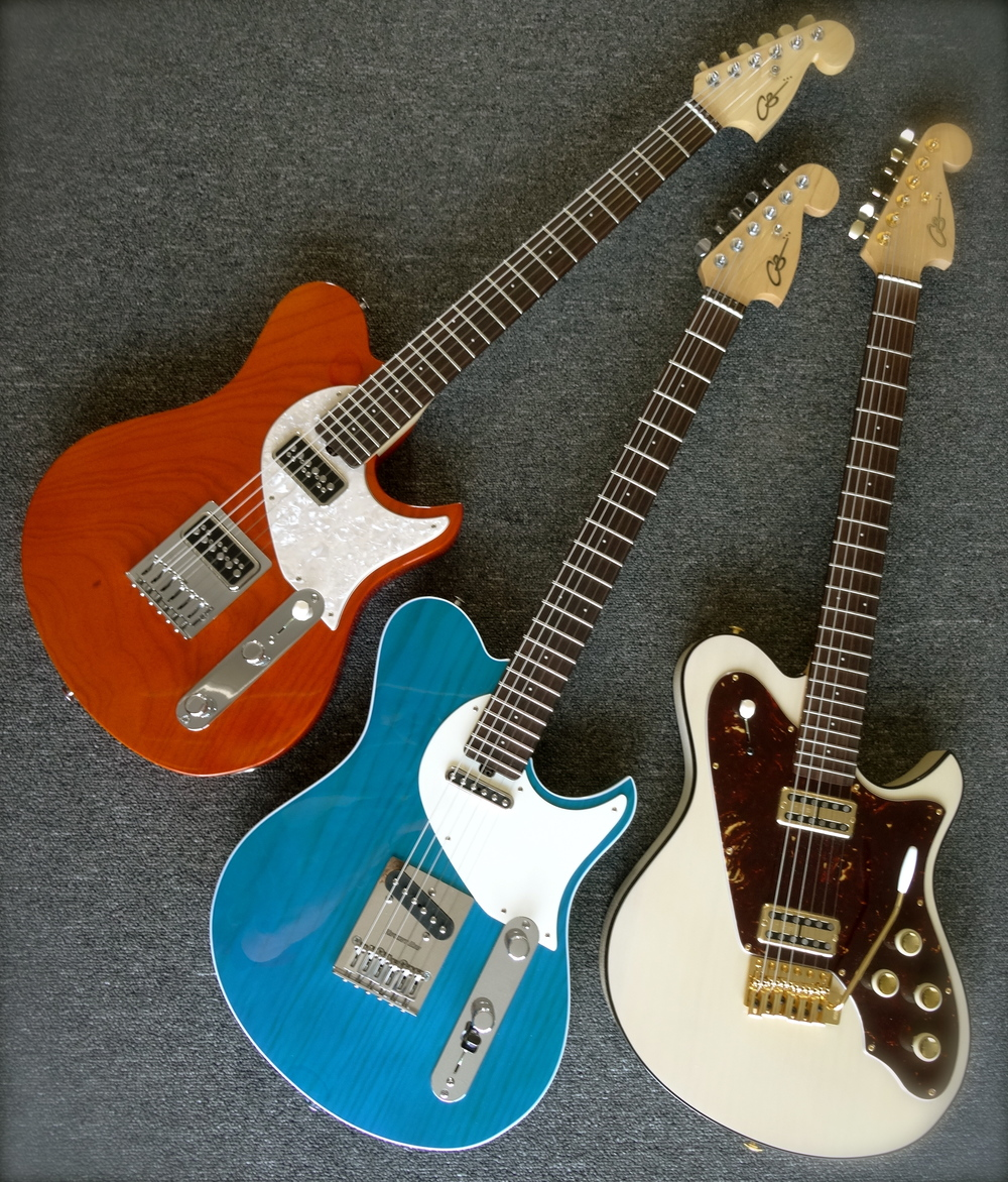 Come check out our new Power Trio. New pickups, new options, lifetime warranty!