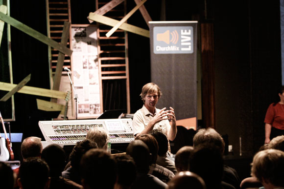 AVL specialist, Paul Dexter, teaches church sound techs how to mix - ChurchMix Live