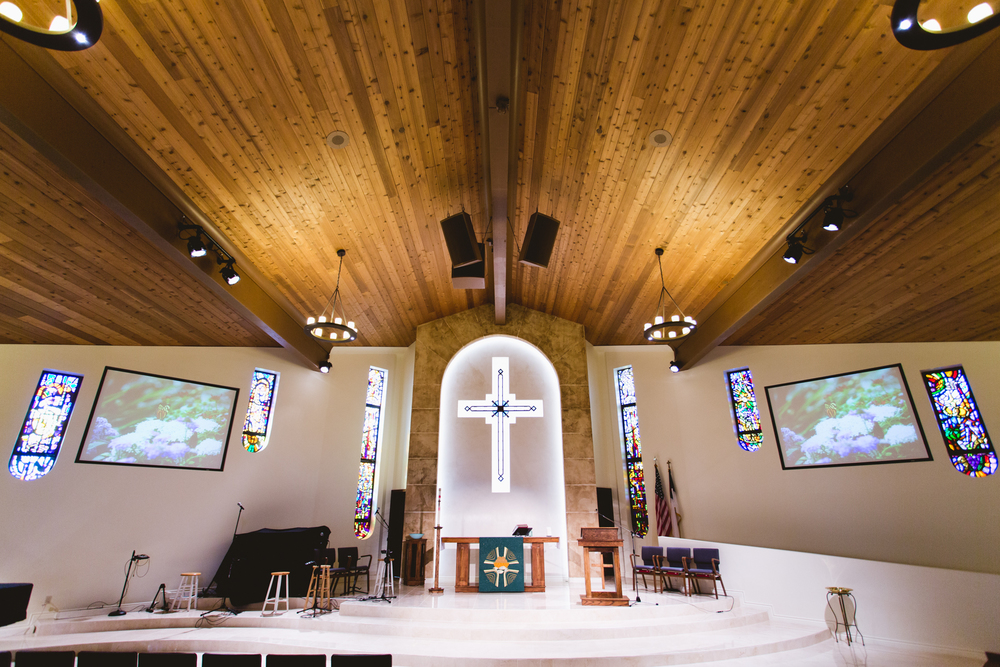 Incarnation Lutheran Church - Audio, Video & Lighting Integration