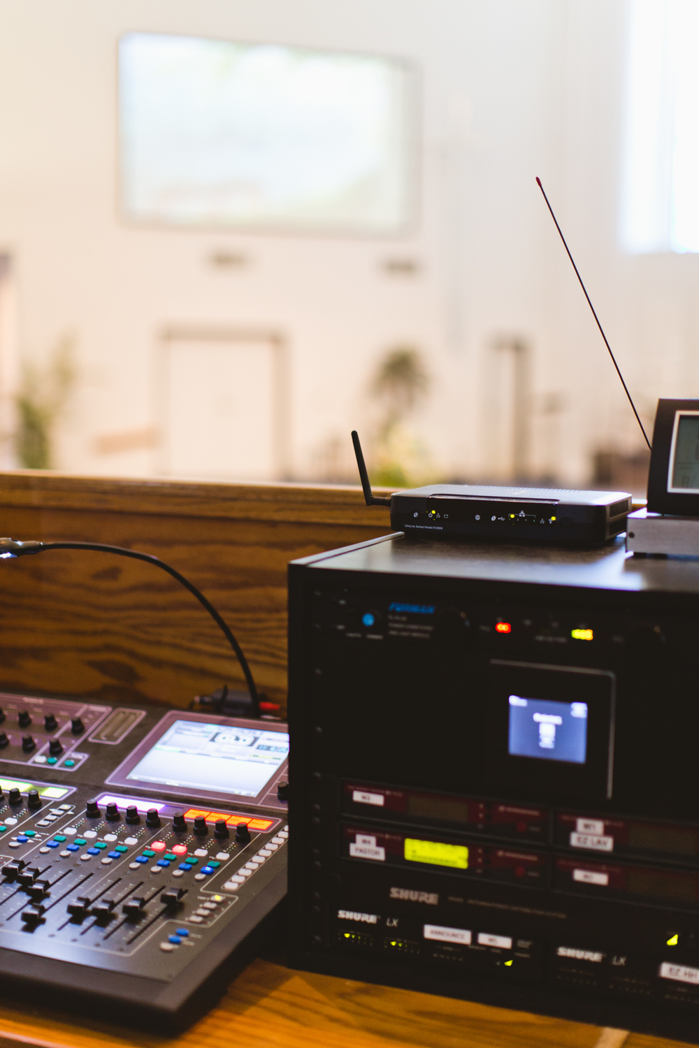 The River Church - Audio Mixer System