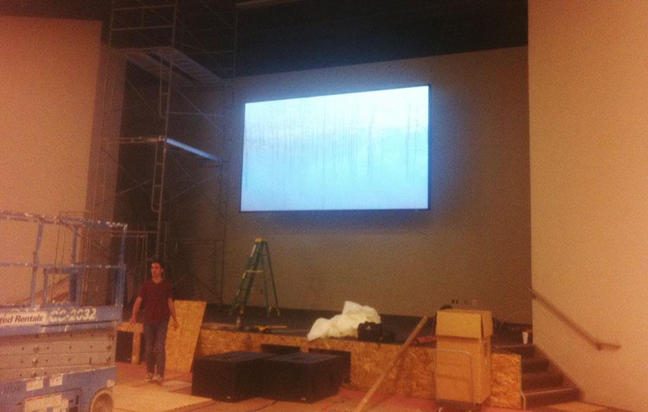 New Life Church - Audio Video and Lighting Integration