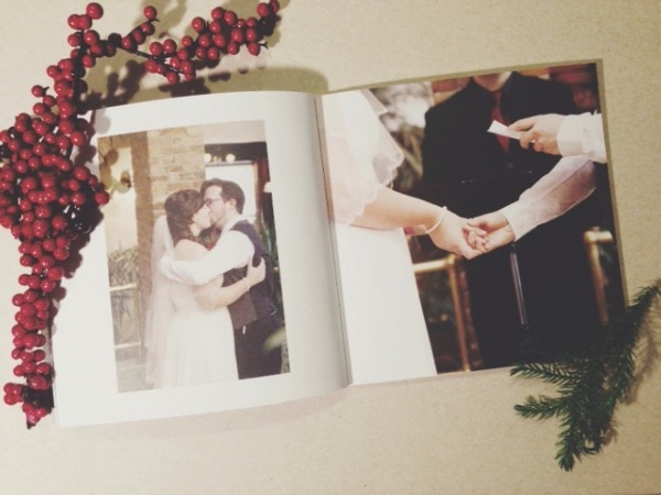 Inside our wedding album by Artifact Uprising