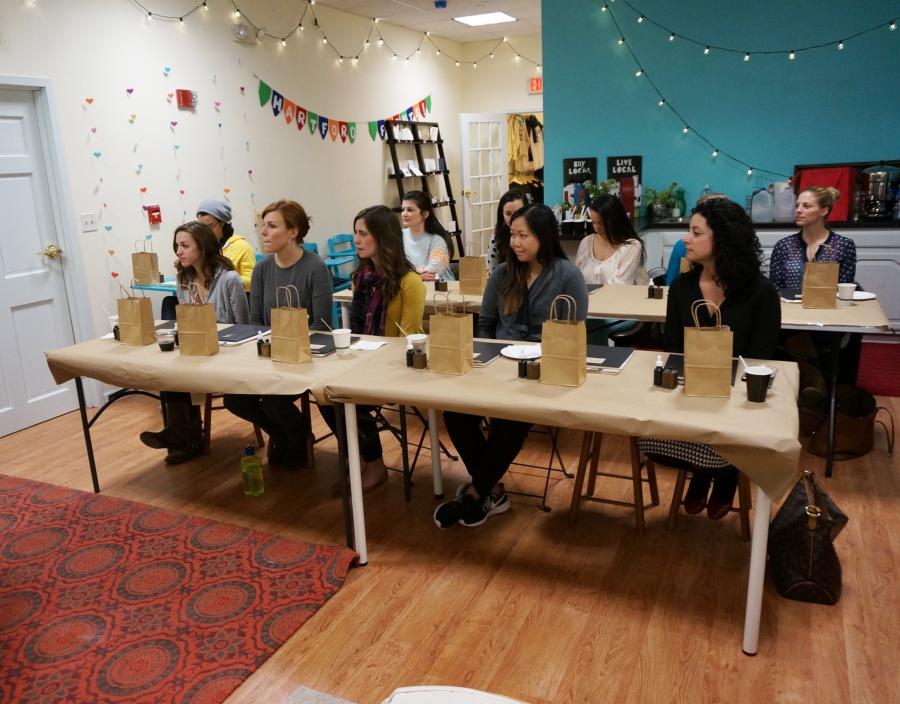 bedsidesign modern calligraphy workshop at hartford prints!