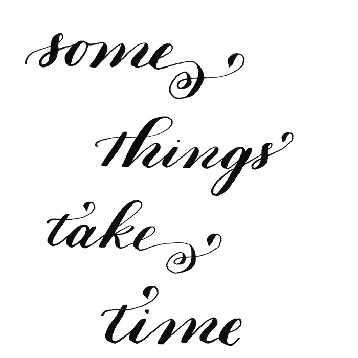 some things take time - by bedsidesign