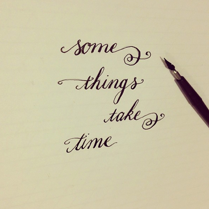 some things take time - by bedsidesign 2013