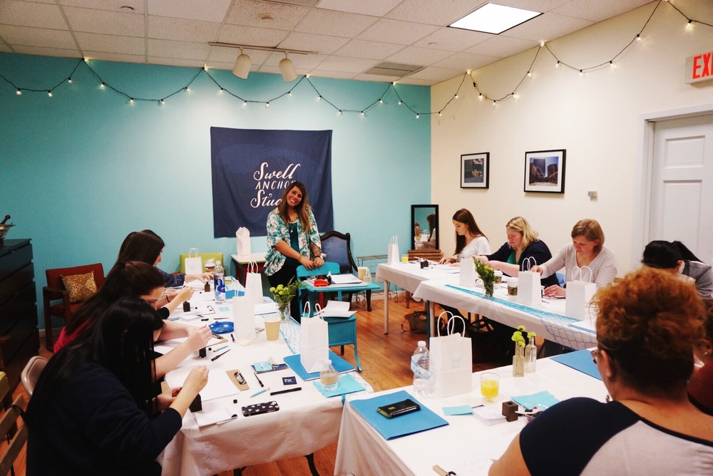 Hartford ct modern calligraphy workshop march 2016 Calligraphy classes near me