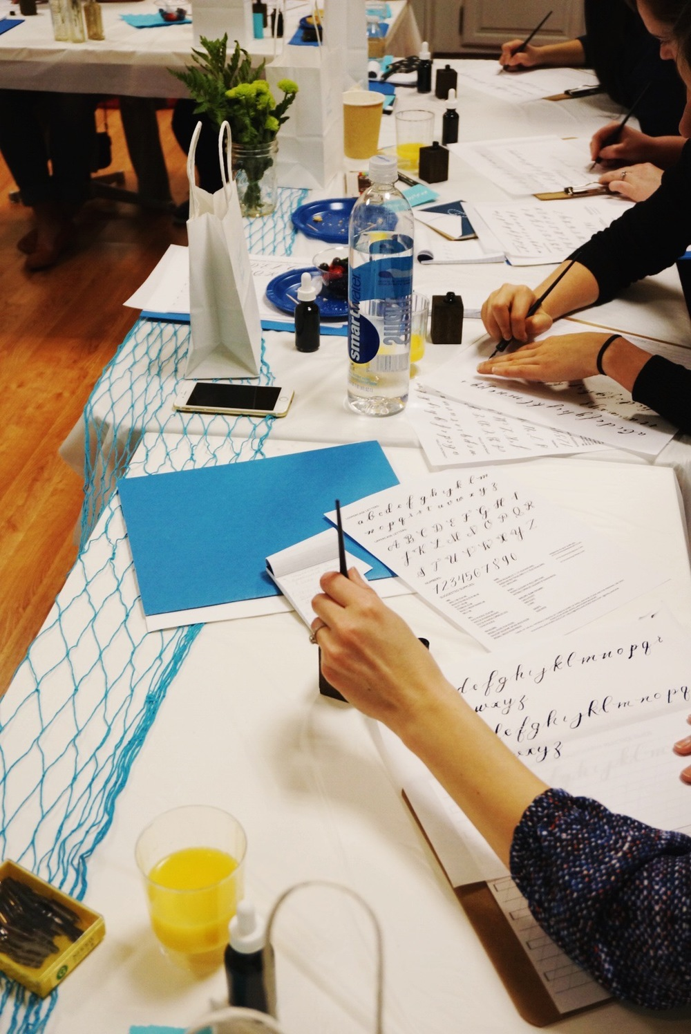 SWELL ANCHOR STUDIO MODERN CALLIGRAPHY WORKSHOP | HARTFORD, CONNECTICUT