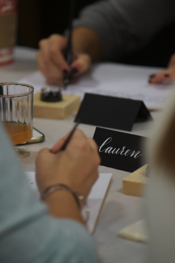 SWELL ANCHOR STUDIO MODERN CALLIGRAPHY WORKSHOP LONG ISLAND NEW YORK