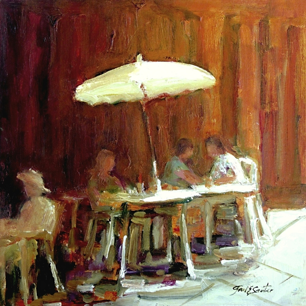 Made In The Shade (Oil 10x10)