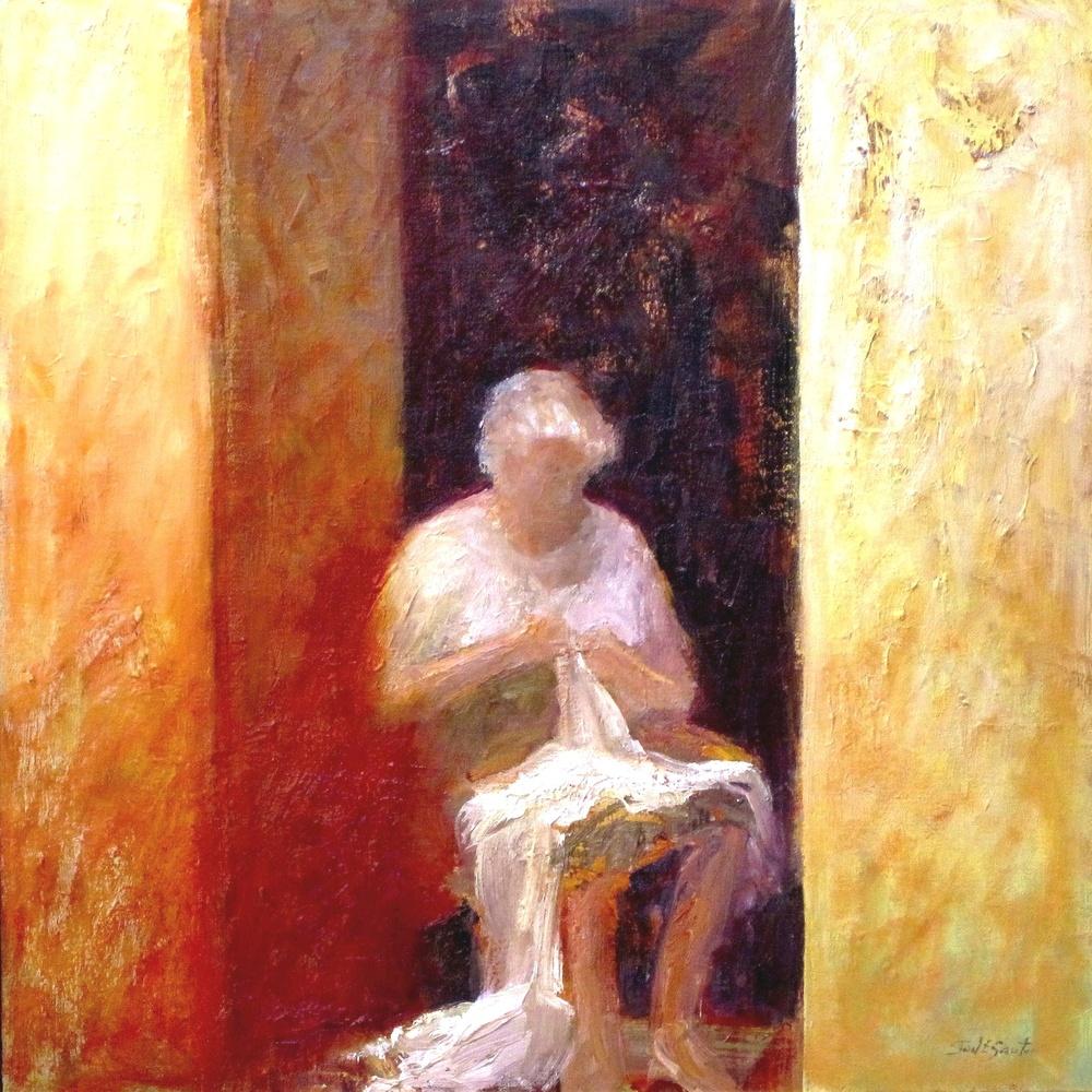 La Nonna (Oil 24x24)