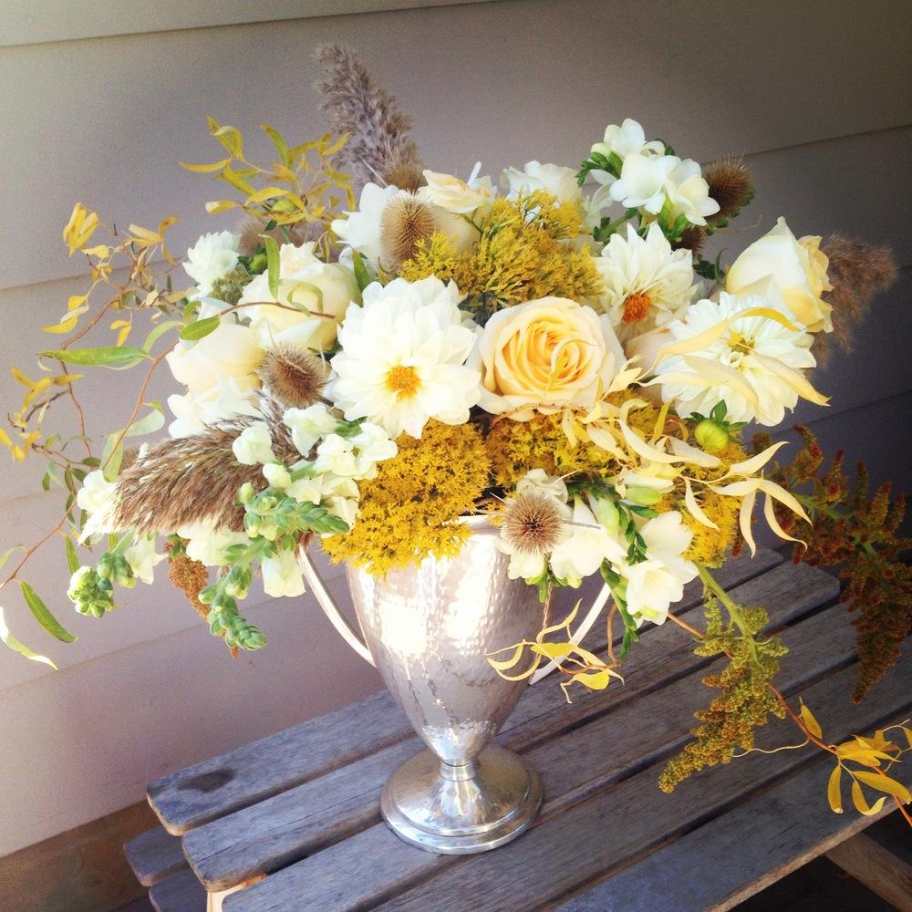 Autumn Trophy Floral. iphone image