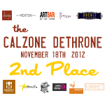 2nd Place - Calzone Dethrone - 2012