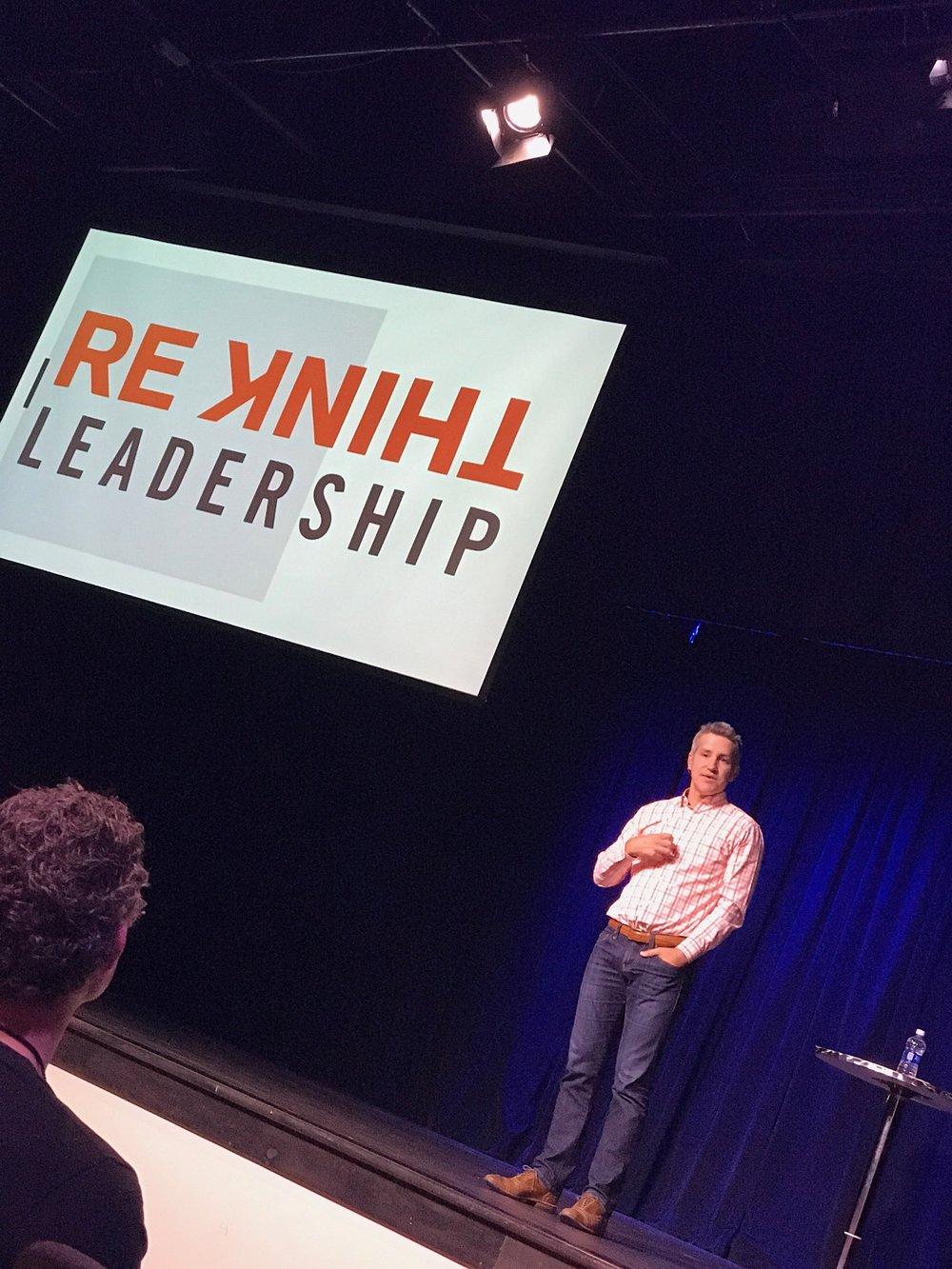 Jon Acuff at ReThink Leadership 2017