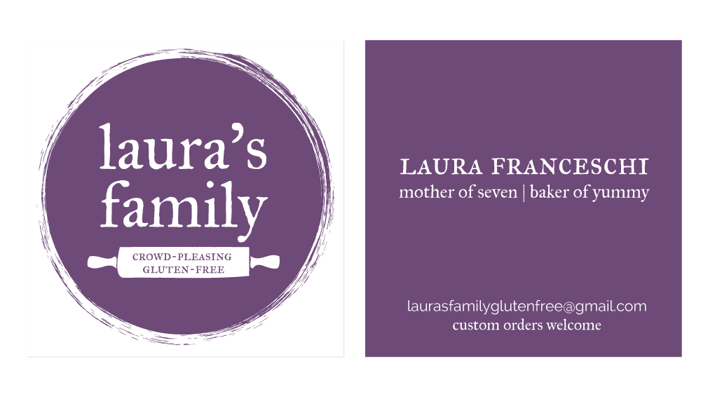Greatest Story Creative (www.greateststorycreative.com) | Laura's Family Gluten-Free Branding