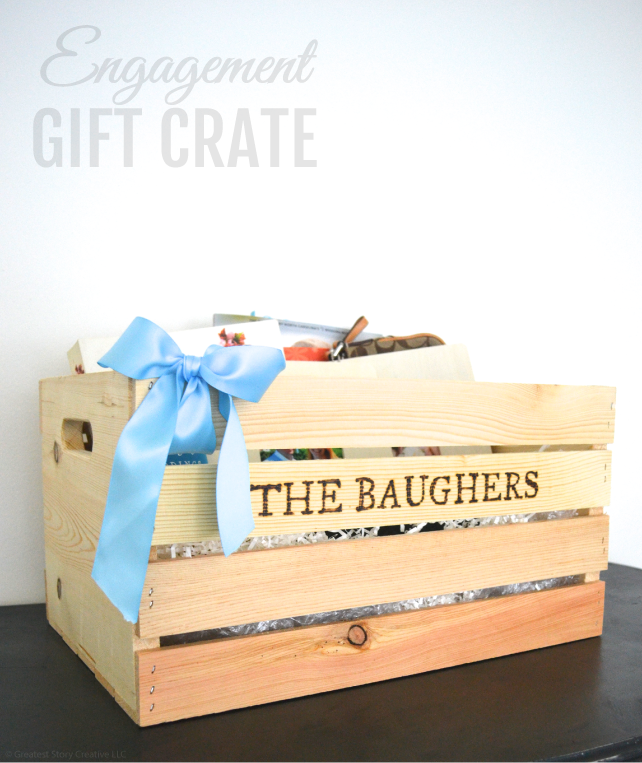 Creative engagement gift a wood burned engagement gift crate creative engagement gift a wood burned engagement gift crate greatest story creative negle