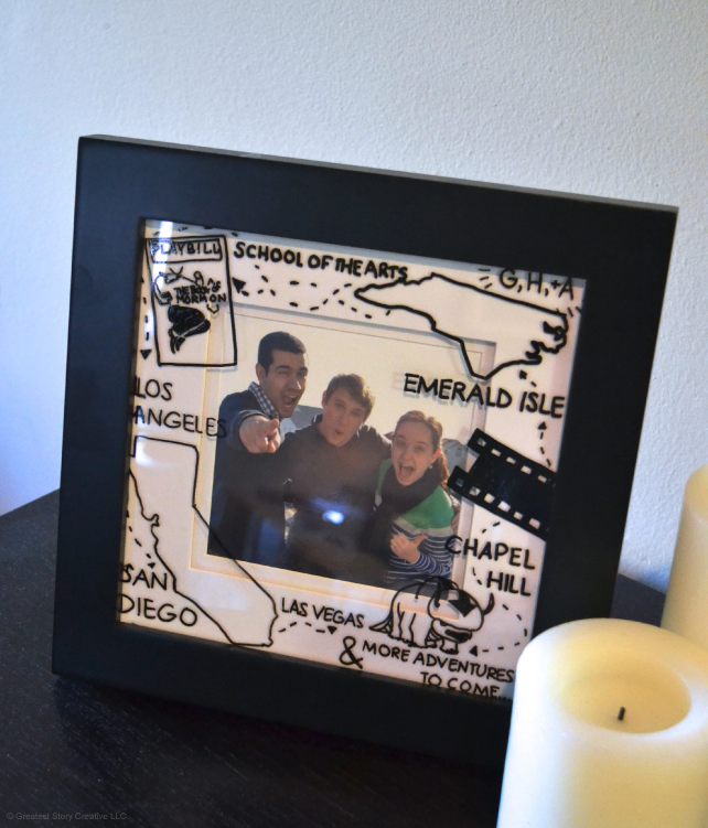 Personalized Memory Picture Frame