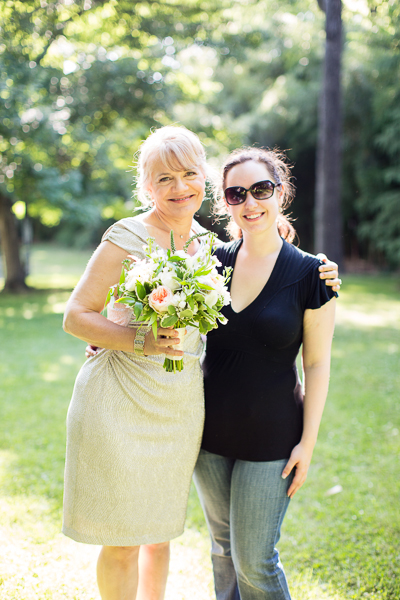 with Elisabeth Benfey, the inspiration for the shoot (robyn van dyke photography)