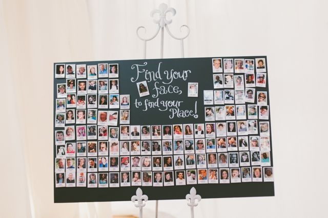 Polaroid Magnet Escort Cards / Favors
