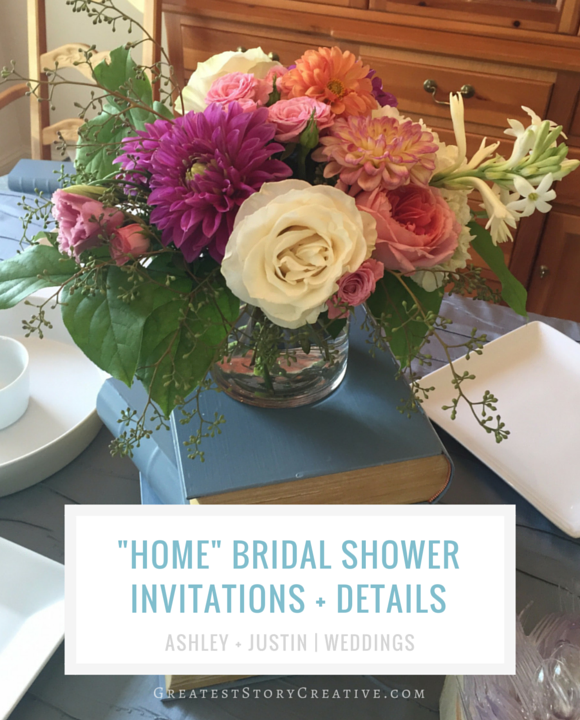 "The Real Story of a ""Home"" Themed Bridal Shower by Greatest Story Weddings"