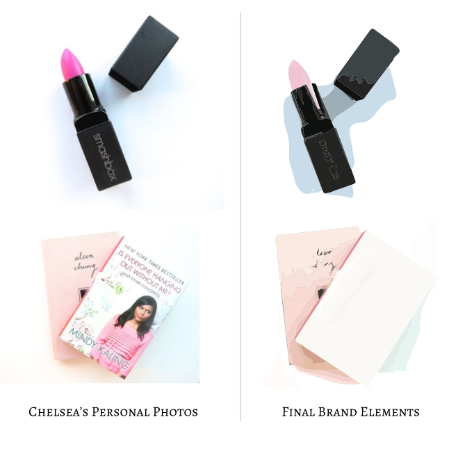 Chelsea Curated Brand Elements by Greatest Story Creative