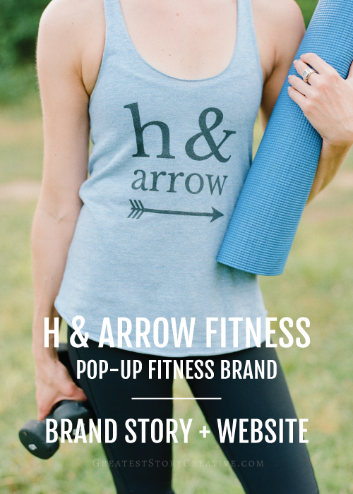 Greatest Story for Business Reveal: Pop-up Fitness Brand, H & Arrow Fitness | Raleigh-Durham