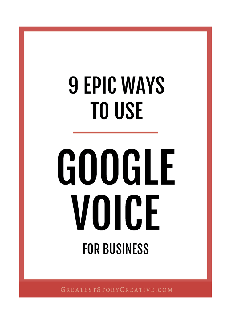 9 creative ways to use google voice for your business or side 9 ways to use google voice for your business or side business greatest story for m4hsunfo