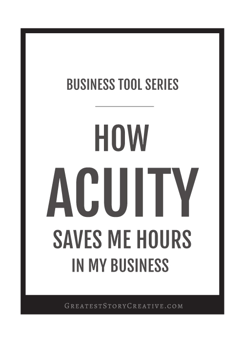 How Acuity Scheduling Saves My Small Business 8 Hours Every Month