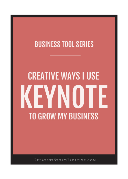 Creative Ways to Use Keynote in Your Business - Annie Franceschi with Greatest Story Creative