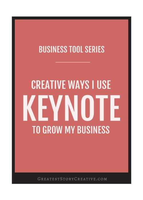 4 Creative and Unusual Ways I Use Keynote To Grow My