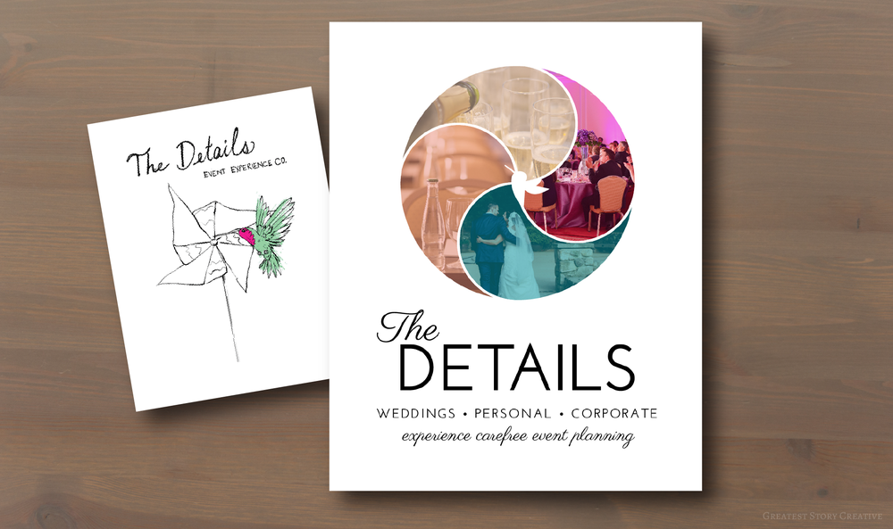 The Details Events Logo by Greatest Story Creative