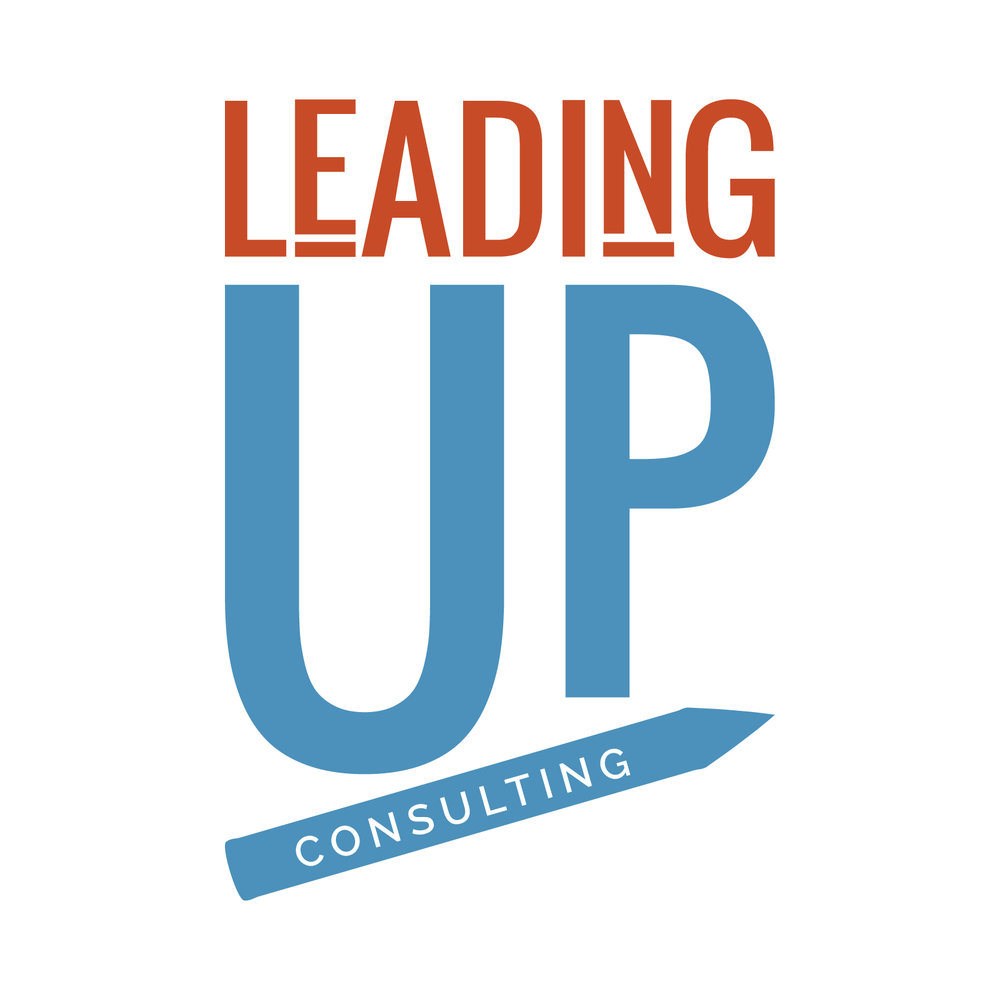 LeadingUp Consulting Education Consulting Firm | New Brand Full Brand Story Identity and Website
