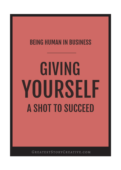 Giving Yourself a Shot to Succeed - Annie Franceschi