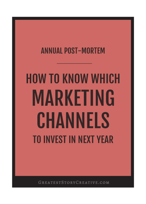 How to Know Which Marketing Channels to Invest in Next Year