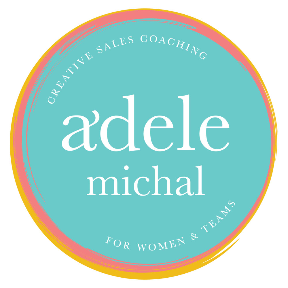 Adele Michal  Sales Coach and Speaker | Rebrand  Full Brand Story Identity, Photoshoot and Website