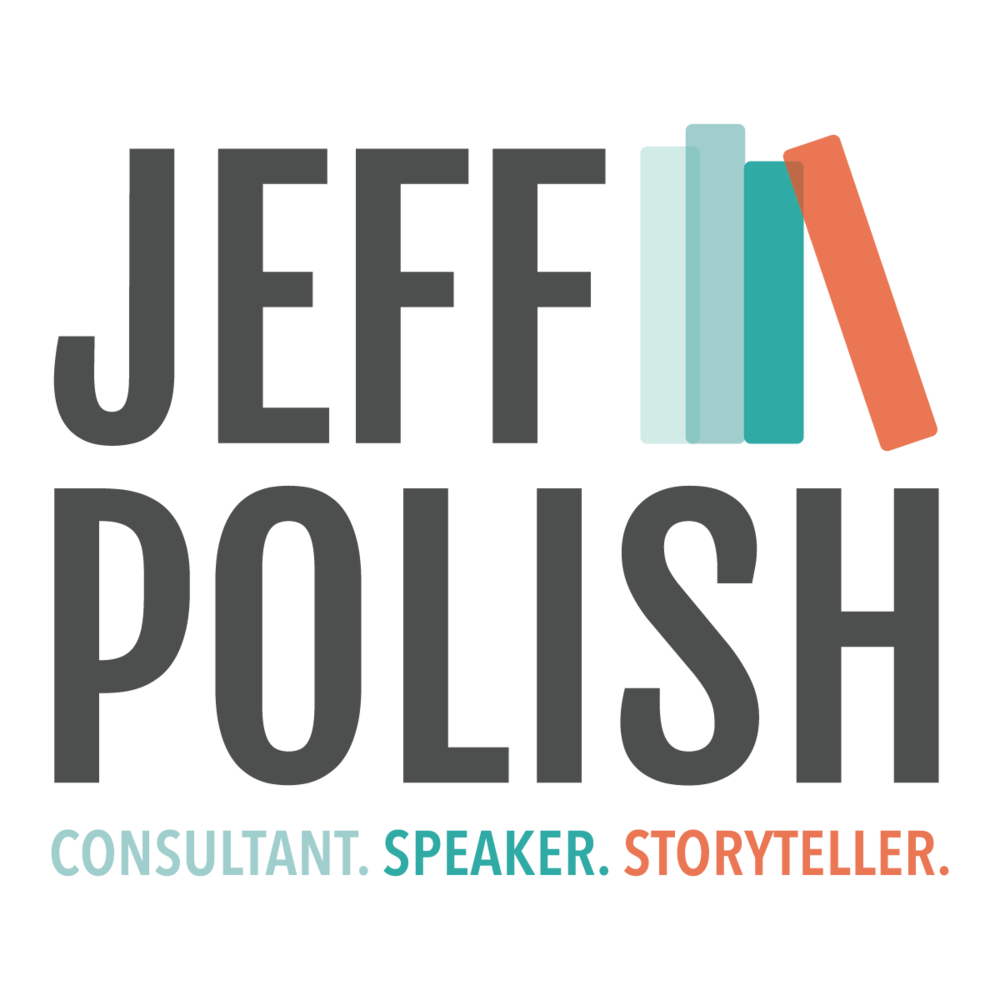 Jeff Polish  Consultant and Speaker | New Brand  Full Brand Story Identity, Photoshoot and Website