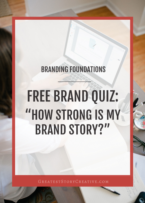 Branding with Annie — Greatest Story Creative