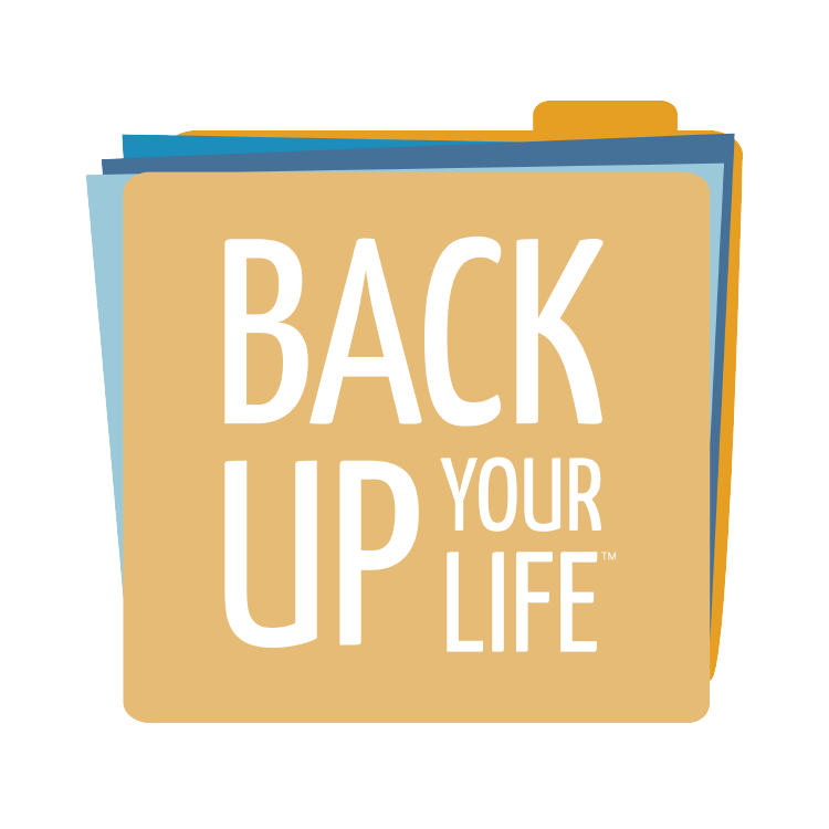Back Up Your Life  Life and Legacy Planning | Rebrand  Naming, Full Brand Story Identity, Photoshoot, and Website