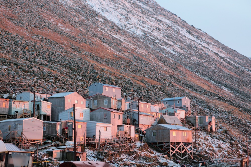 Little diomede island looking at tomorrow today alaska film the village of little diomede alaska publicscrutiny Images