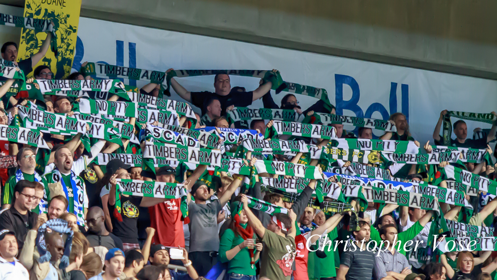 2013-10-06 Timbers Army Goal Reaction (Sanvezzo's First).jpg